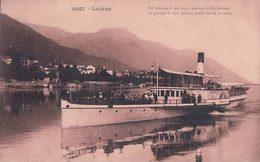 Locarno, Bateau à Vapeur ITALIA (10047) - TI Tessin