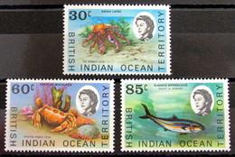 Territorio Británico Del Océano Índico 36/8 ** - Territorio Británico Del Océano Índico