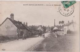 SAINT-DENIS-LES-PONTS - ARRIVÉE DE CHÂTEAUDUN - E.L.D. - Chateaudun