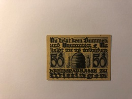 Allemagne Notgeld Allemagne Wittingen 50 Pfennig - [ 3] 1918-1933 : République De Weimar