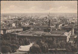 Panorama, Milano, Lombardia, C.1930s - Saemec Cartolina - Milano (Milan)
