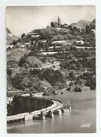 Isère - 38 - Le Barrage Du Chambon Cachet Bourg D'oisans 1960 , Ed Photedit 1 Av De Vizille Grenoble - Bourg-d'Oisans