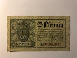 Allemagne Notgeld Allemagne Wittlich 25 Pfennig - [ 3] 1918-1933 : République De Weimar