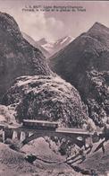 Martigny - Chamonix, Finhaut Le Viaduc, Chemin De Fer Et Train (4627) - VD Waadt