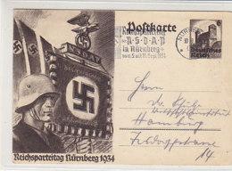 P 252 Aus NÜRNBERG 10.10.34 Maschinensonderstempel - Deutschland