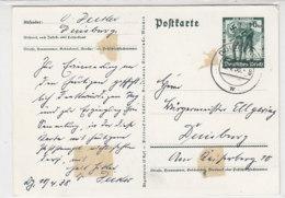 P 268 Aus DUISBURG 10.8.38 Falzreste - Deutschland