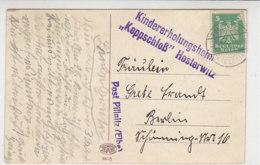 LANDPOST ? POST PILLNITZ (ELBE) 3.12.26 Mit St. Kindererholungsheim KEPPSCHLOSS Hosterwitz - Deutschland