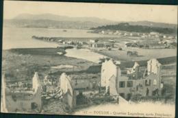 83  TOULON   / Quartier Lagoubran Après L'explosion - Toulon