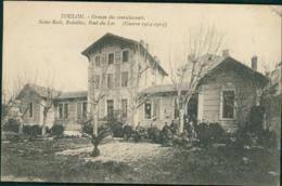 83  TOULON   / Groupe Des Convalescents  Saint Roch Rodeillac Pont Du Las Guerre 1914-1915 - Toulon