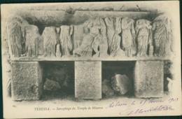 ALGERIE TEBESSA  /  Sarcophage Du Temple De Minerve / - Tébessa