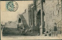 ALGERIE TEBESSA  / L'arc De Caracalla Et Les Remparts De La Citadelle Byzantine / - Tébessa