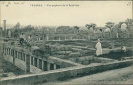 ALGERIE TEBESSA  / Vue Générale De La Basilique / - Tébessa