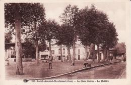 3135632Saint Amand Montrond, La Place Carrée Le Theatre - Saint-Amand-Montrond
