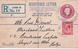 Entier Postal - Lettre Recommandé 1929 - Entiers Postaux