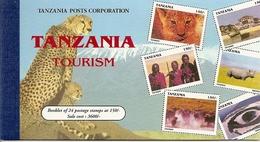 TANZANIA, 1990, Booklet 20, Turism, 24x150/- - Tanzanie (1964-...)