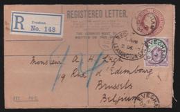 Entier Postal - Lettre Recommandé 1907 - Entiers Postaux