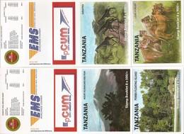 TANZANIA, 2011, Booklet 21/24, Tourist Attractions, 4 Booklets - Tanzania (1964-...)