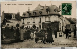 DREUX (E.-et-L.) Statue Et Place Rotrou - Dreux