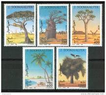 1994 Somalia Alberi Trees Arbres Lions Set MNH** - Somalia (1960-...)