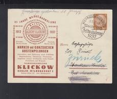 Dt. Reich Bild-PK Markenhandlung Klikow 1937 (4) - Germania