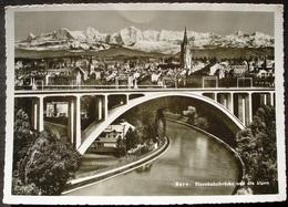 BERN Eisenbahnbrücke Gel. 1946 N. Kronbühl St. Gallen - BE Bern