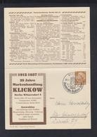 Dt. Reich Bild-PK Markenhandlung Klikow 1937 (5) - Deutschland