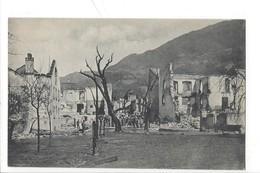 21115 - Bonaduz Postgebäude (rechts) Mannschaft Beim Einreissen Der Geborstenen Mauern - GR Grisons