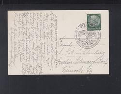 Dt. Reich AK Hitler Sonderstempel Stettin Gautreffen 1938 - Deutschland