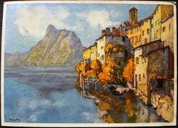 GANDRIA Künstler Hugo Frey Gel. 1937 N. St. Gallen - TI Tessin