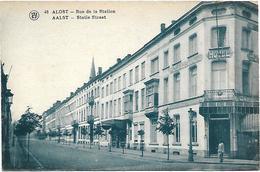 Alost - Rue De La Station. - Aalst