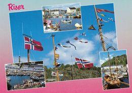 1 AK Norwegen * Ansichten Der Kleinstadt Risør * - Norwegen