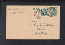 Besetzung Belgien GSK Mit ZuF 1914 Postamt Lüttich Nach Elberfeld - Occupation 1914-18
