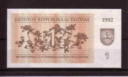 5b * BANKNOTE VON LETTLAND * 1992 * DRUCKFRISCH **!! - Latvia