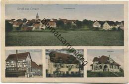 Orlach - Handlung Von Fr. Baumann - Pfarrhaus - Rathaus - Verlag Wilh. Klemm Schw. Hall Gel. 1920 - Other