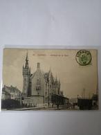 Veurne - Furnes // Interieur De La Gare - Statie Binnenzicht 1907 Met Taxe Zegels France - Veurne