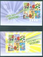 AUSTRALIA  - FDC - 6.10.2009 - LET'S GET ACTIVE - Yv 3161-3166 BLOC 121  - Lot 18532 - Premiers Jours (FDC)