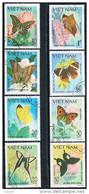 Viet Nam 1983 - Butterflies  Used - Vietnam