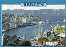 1 AK Norwegen * Ansicht Der Stadt Bergen * - Norwegen