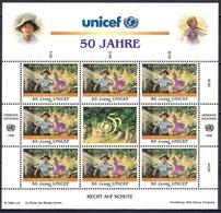 UN Vienna 1996 - The 50th Anniversary Of UNICEF - UNO
