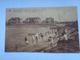 Réf: 100-5-36          KNOCKE-SUR-MER   /  AAN-ZEE   Albert Plage Lac De La Victoire - Les Bains ( Brunâtre ) - Knokke