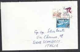 CROATIA 1992 - ADDRESSED COVER WITH MIXED JUGOSLAVIAN AND CROATIAN POSTAGE - RARE - Croatie