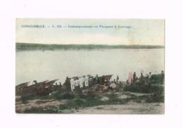 Embarquements En Pirogues à Kasonga. - Congo Belge - Autres