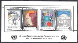 UN Vienna 1986 - The 40th Anniversary Of The WFUNA - UNO