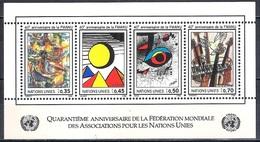 UN Geneva 1986 - The 40th Anniversary Of The WFUNA - UNO
