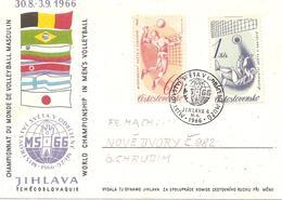 1966 Championnat Du Monde De Volley Ball Masculin :Jilava (Tchécoslovaquie ) - Volley-Ball