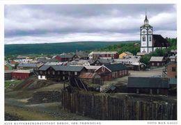 1 AK Norwegen * Die Historische Altstadt In Røros - Seit 1980 UNESCO Weltkulturerbe - Karte Aus Dem Harenberg Kalender * - Norwegen