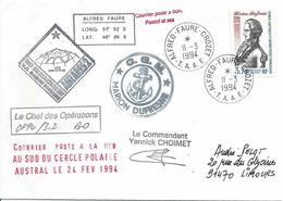 YT 168 - Marion Dufresne - Antares 2 - Alfred Faure - Crozet - Terres Australes Et Antarctiques Françaises (TAAF)