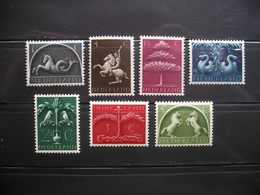 Netherlands Sea Horse,Tree Etc. 1943 MNH - Period 1891-1948 (Wilhelmina)