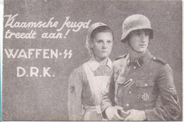 PK - Pub.  Reclame Propaganda Vlaamse Jeugd Treedt Aan - Waffen SS - D.R.K. - Militaria