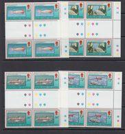 Falkland Islands 1993 Fisheries 4v 2x Gutter ** Mnh (41473B) - Falklandeilanden